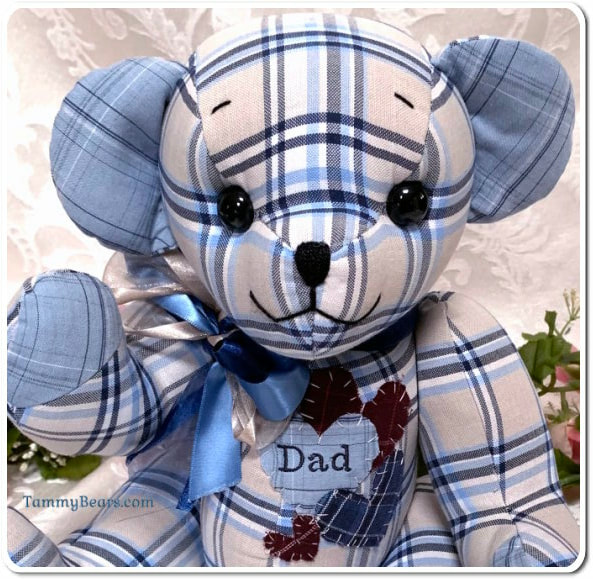 Custom Made Memory Bears from Your Loved Ones Clothing. - TammyBears