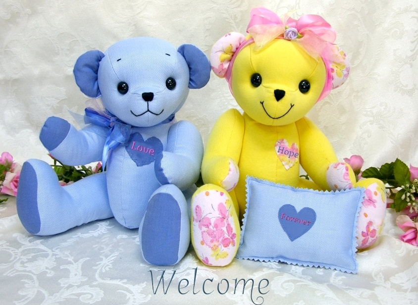 0b66f0939d3 TammyBears - Memory Teddy Bears Custom Made from Your Loved One's Clothing.