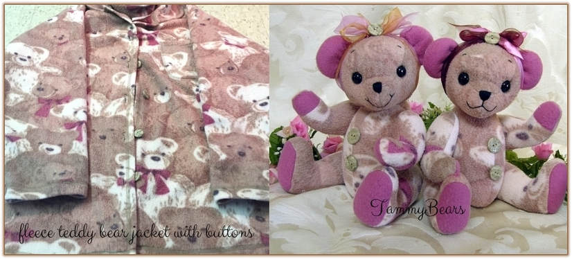 before and after memory bears