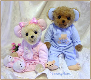 weighted baby memory bears